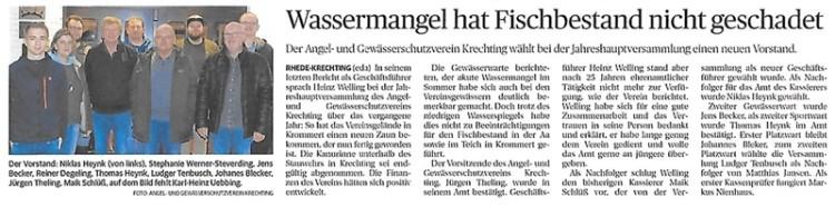 Wassermangel hat Fischbestand nicht geschadet